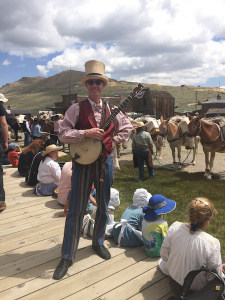 THE STRYCHNINE BANJO…visited Bodie