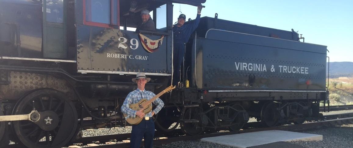 At the Wabuska Depot, V&T Railroad Museum
