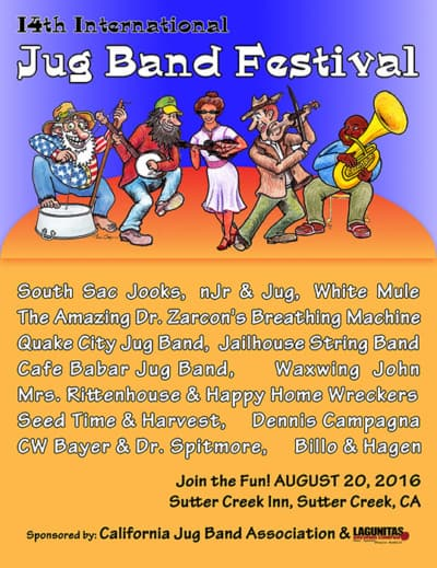 International Jug Band Festival–it was an amazing collection of honky tonk!